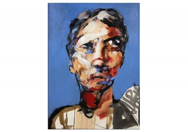 "Neoexpressionismus, Porträt, J.J. Piezanowski: ""Des petites pensées errantes"""