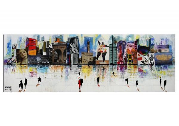 "Modernes Gemälde, K. Namazi: ""Überall Liebe"" (ri)"