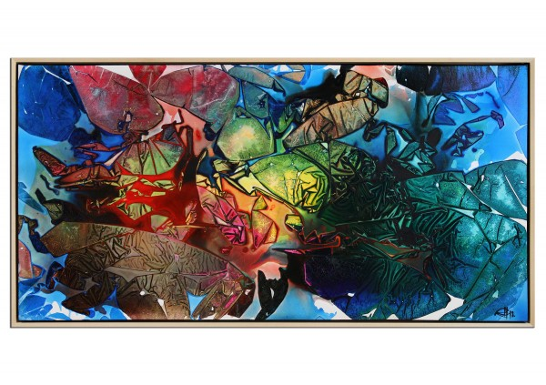 "Acrylgemälde, G. Hung: ""Kaleidoskop I"" (E)"