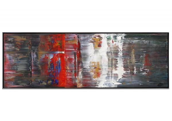 """Zeitgenössisches Acrylgemälde, G. Hung: """"Transformation"""""""