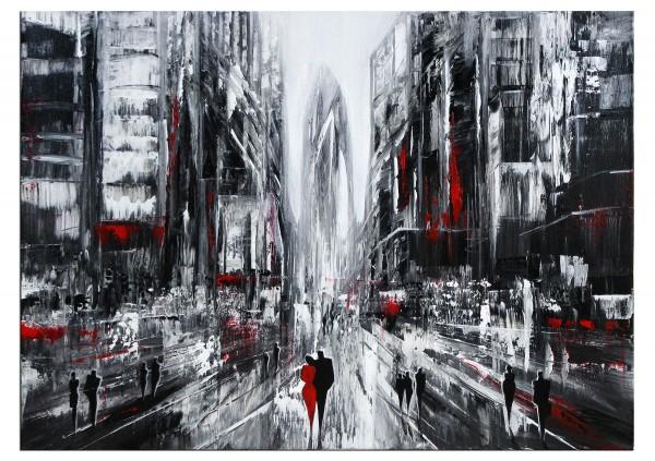 "Modernes Gemälde, K. Namazi: ""Schnelllebigkeit I"" (E)"