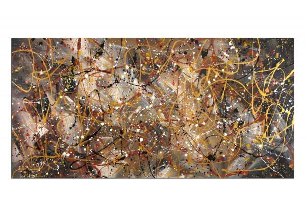 """Acrylgemälde, G. Hung: """"Sternenfeld I"""""""