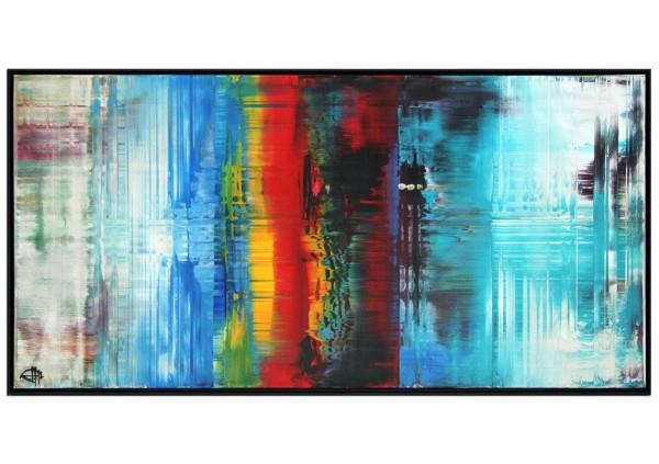 """Acrylgemälde, G. Hung: """"Lichtreflex I"""""""