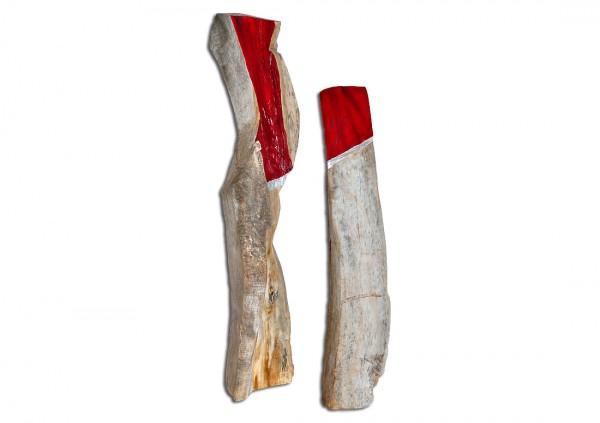 """Skulptur, J. Zipfel : """"WEGE ZUEINANDER"""""""