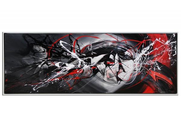 "Acrylgemälde, G. Hung: ""Zentrale Lichtsäule I"""