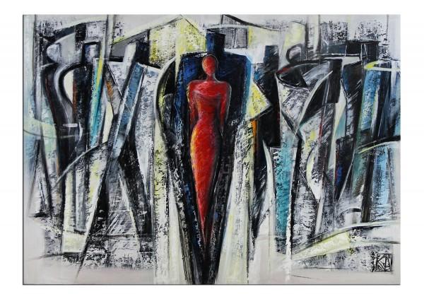 "Modernes Gemälde, K. Namazi: ""Gesellschaftsprisma"""