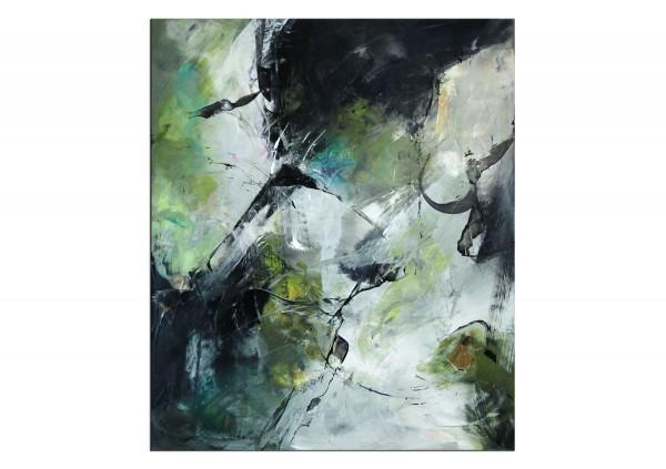 "Abstrakte Acrylmalerei, C. Middendorf: ""Steinbruch VI"", Originalgemälde (Unikat)"