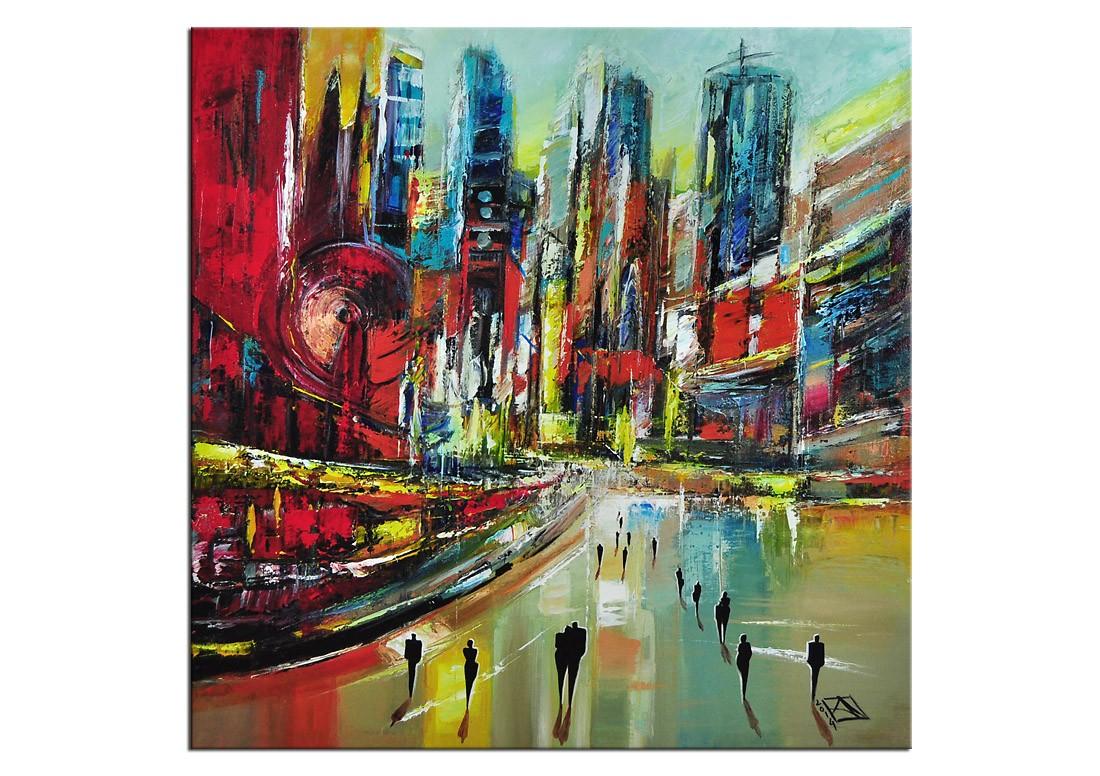 moderne bilder k namazi urbane nullzeit iii e verkaufte kunstwerke die galerie acrylbilder abstrakt acrylbilder galerie kunst online kaufen - Moderne Bder