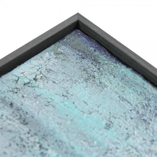 Premium XL Schattenfugenrahmen grau, SR-45096-g, Bilderrahmen Holz, modern
