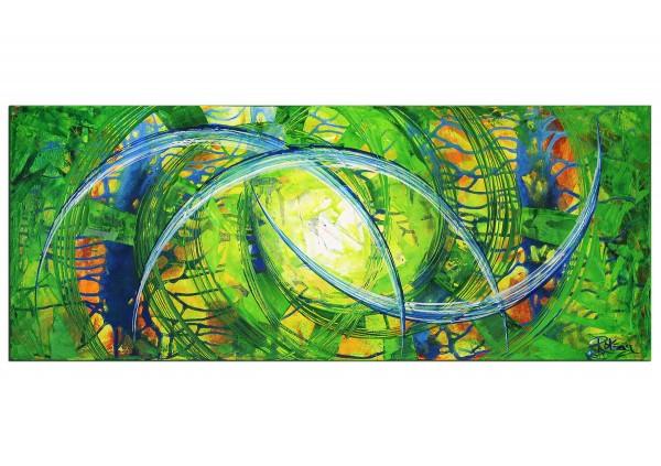 """Gemälde abstrakt, R.König: """"Freshmaker"""" (ri)"""