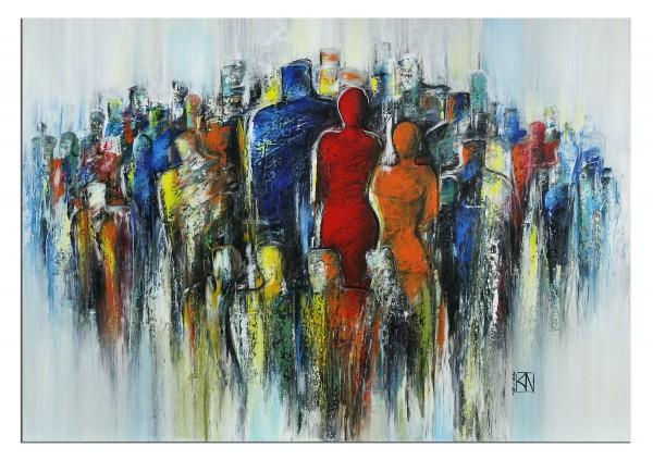 "Modernes Gemälde, K. Namazi: ""Dreamteam III"" (A)"