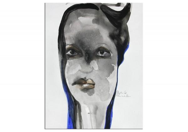 "Neoexpressionismus, E.v.d.Meer: ""MYSTIC GIRL"""