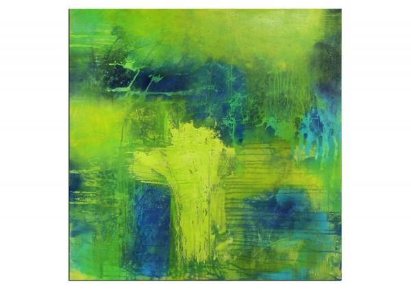 "Acrylmalerei abstrakt, M.Rick: ""Let Colors flow"""