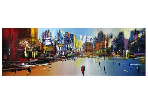 "Modernes Gemälde, K. Namazi: ""Klassisches Utopia I"", Originalgemälde (Unikat) (A)"