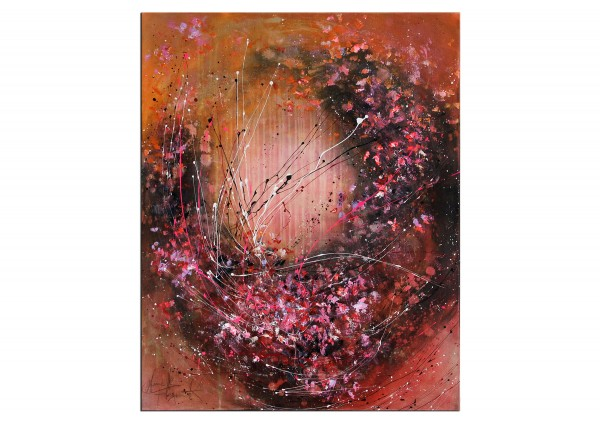 """Acrylbild von A. Freymuth: """"RISING"""""""