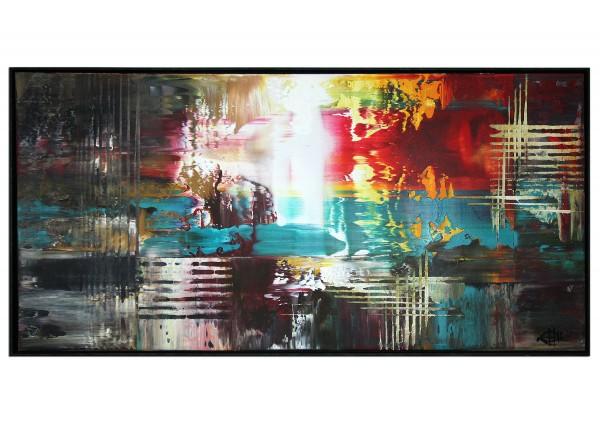 "Acrylgemälde, G. Hung: ""Bladerunner I"" (ri)"