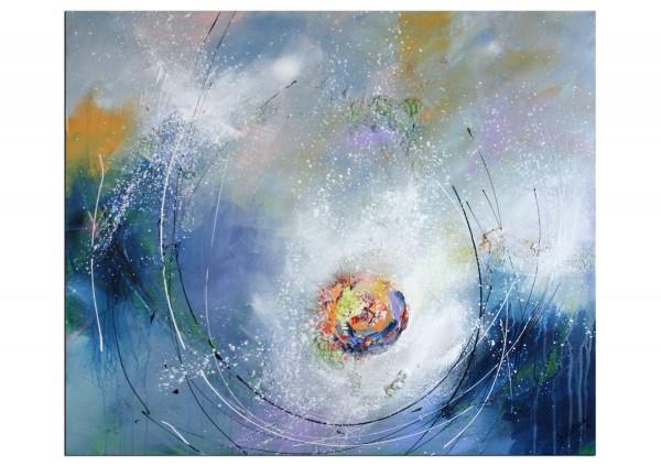"Acrylgemälde, M.Kühne: ""Flow"", Originalgemälde (Unikat)"