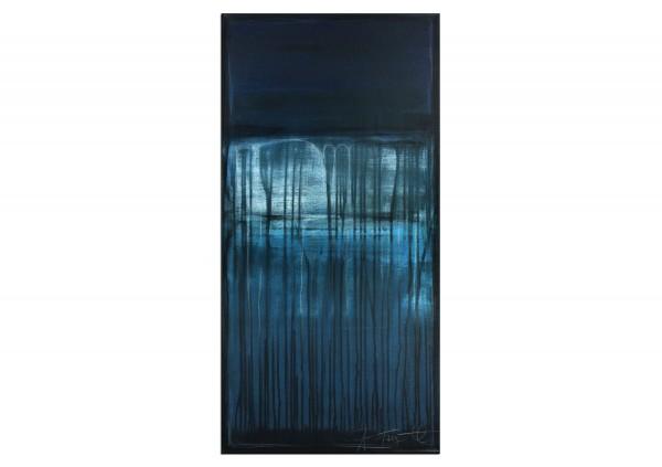 """Acrylbild von A. Freymuth: """"Hidden Place"""""""
