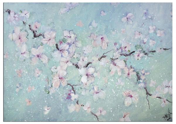 """Gemälde abstrakt, Maya: """"Blütenträume I"""""""