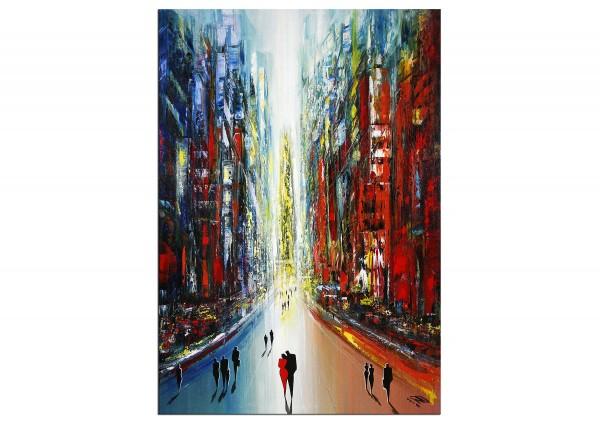 "Modernes Gemälde, K. Namazi: ""Urban Consolation II"" (ri)"