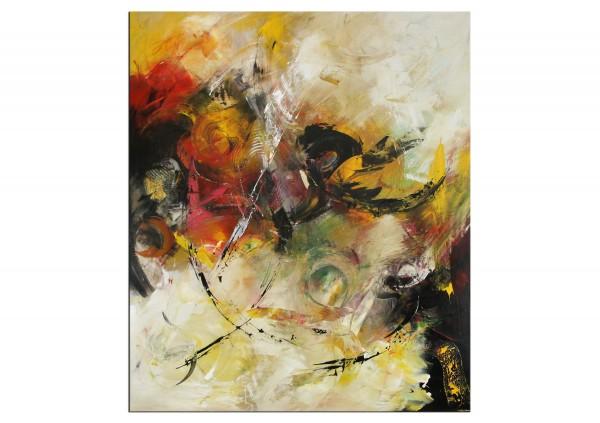 """Abstrakte Acrylmalerei, C. Middendorf: """"Weltentraum II"""" (A)"""