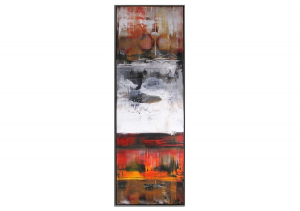 "Acrylgemälde, G. Hung: ""Feuerland I"""