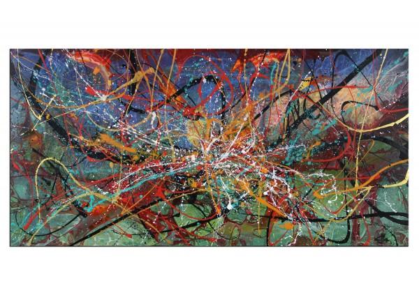 "Acrylgemälde, G. Hung: ""Erweitertes Spektrum I"""