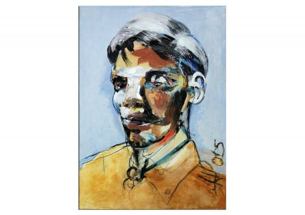 "Neoexpressionismus, Porträt, J.J. Piezanowski: ""Un trouble"" (A)"