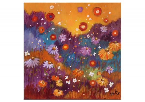"""Acrylbilder, Maya: """"Herbstwiese"""""""