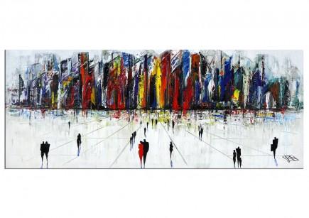 "Modernes Gemälde, K. Namazi: ""Vor den Toren IV"""