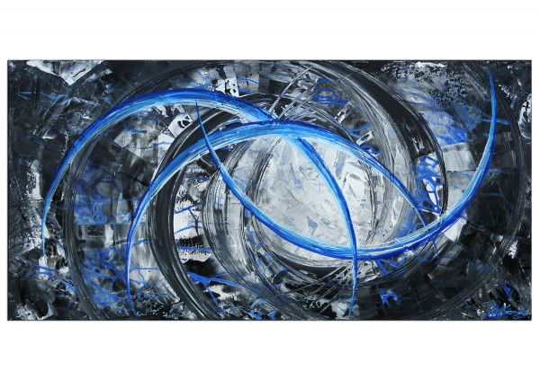 "Gemälde abstrakt, R.König: ""Liquid Ice II"" (ri)"