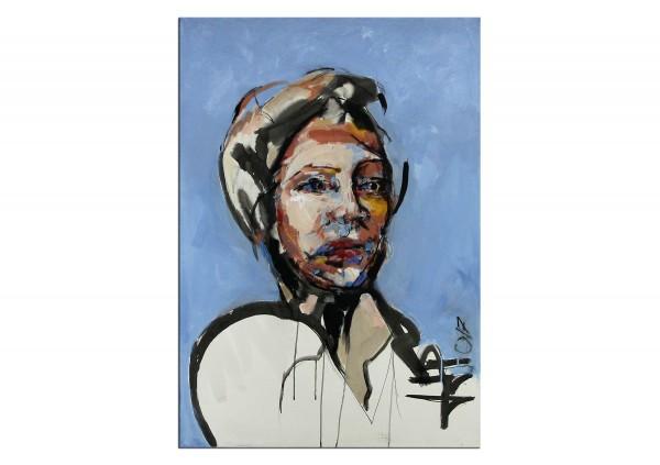 """Neoexpressionismus, Porträt, J.J. Piezanowski: """"J'empiète sur tes désirs"""""""