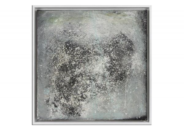 "Acrylmalerei abstrakt, M.Rick: ""Schneegestöber"""