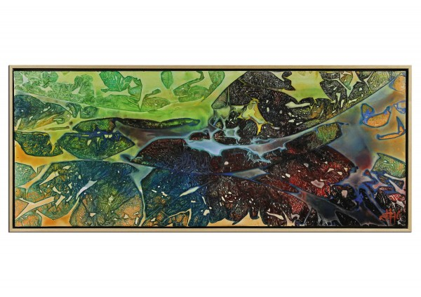 "Acrylgemälde, G. Hung: ""Nanowelt IV"" (ri)"