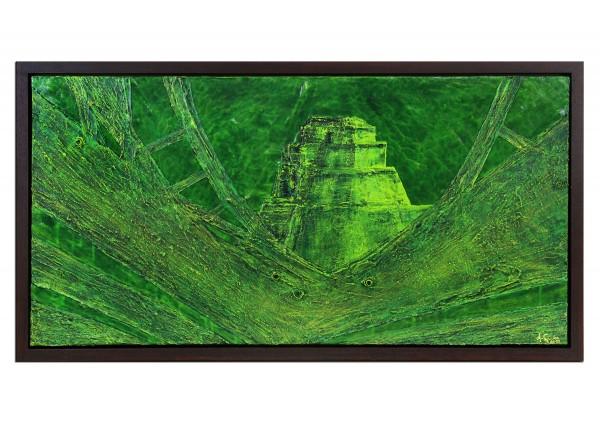 "Acrylgemälde, A.Garbe: ""Piramide del Mago"" (ri)"