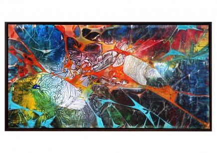 "Acrylgemälde, G. Hung: ""Wilderness II"" (ri)"