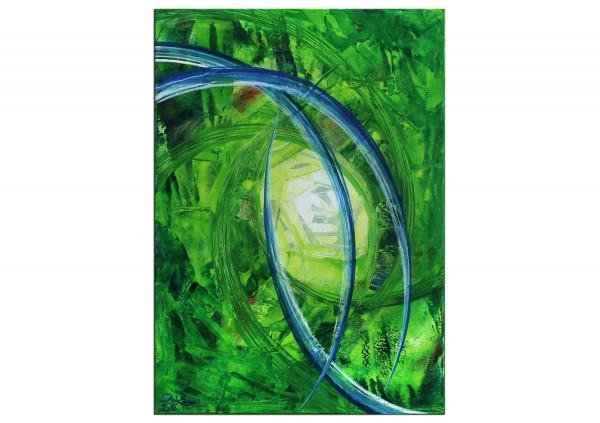 """Gemälde abstrakt, R.König: """"Chill Factor I"""" (ri)"""