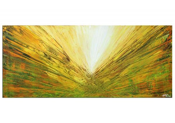 "Acrylmalerei abstrakt, Julio Fernandez: ""Springrays II"" (ri)"