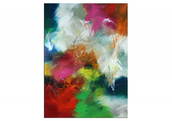 "Abstrakte Acrylmalerei, C. Middendorf: ""Sommermomente I"", Originalgemälde (Unikat)"