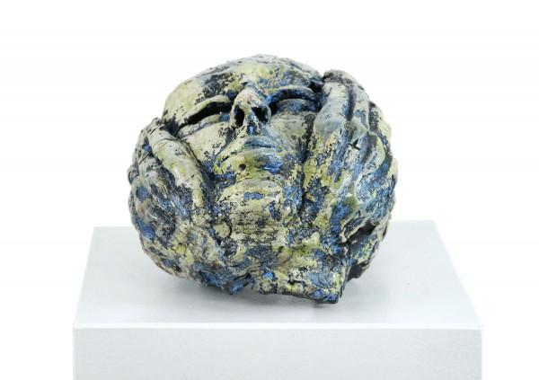 """Zeitgenössische Skulptur, Ilona Schmidt: """"Maske"""""""