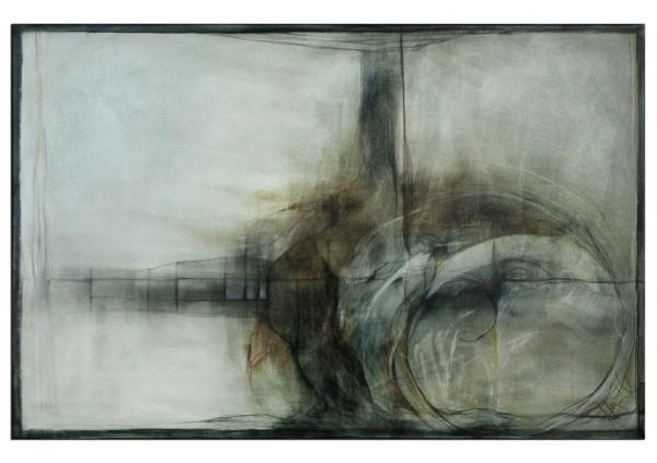 "Acrylbilder abstrakt, A. Freymuth: ""Brücke"" (A)"