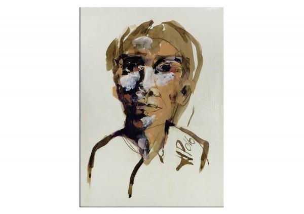 """Neoexpressionismus, Porträt, J.J. Piezanowski: """"Irrémédiablement romantique"""""""