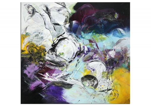 """Moderne Acrylmalerei, C. Middendorf: """"Urgewalt I"""" (A)"""
