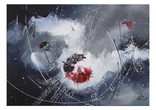 """Abstraktes Gemälde, Maya: """"Light and shadow I"""""""