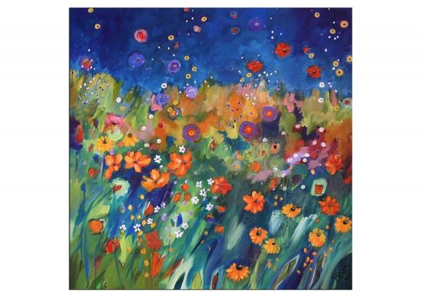 """Acrylbilder, Maya: """"Septembergarten"""""""
