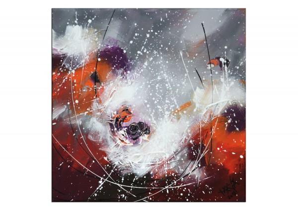 "Gemälde abstrakt, Maya: ""Little red"""