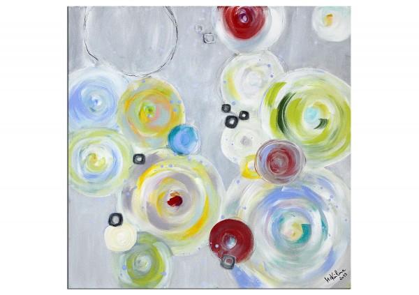 "Acrylgemälde, M.Kühne: ""Rainbow Day"""