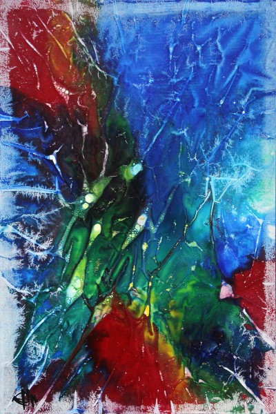 "G. Hung: ""Colourful I"", Originalgemälde (Unikat)"