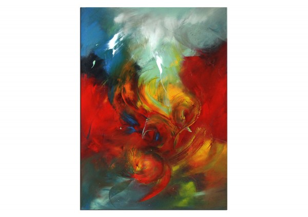 """Abstrakte Acrylmalerei, C. Middendorf: """"Power in Love III"""""""