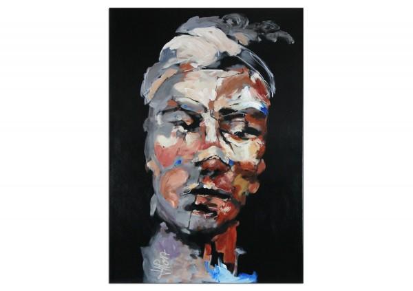 """Neoexpressionismus, Porträt, J.J. Piezanowski: """"Tout pourrait encore arriver"""" (A)"""